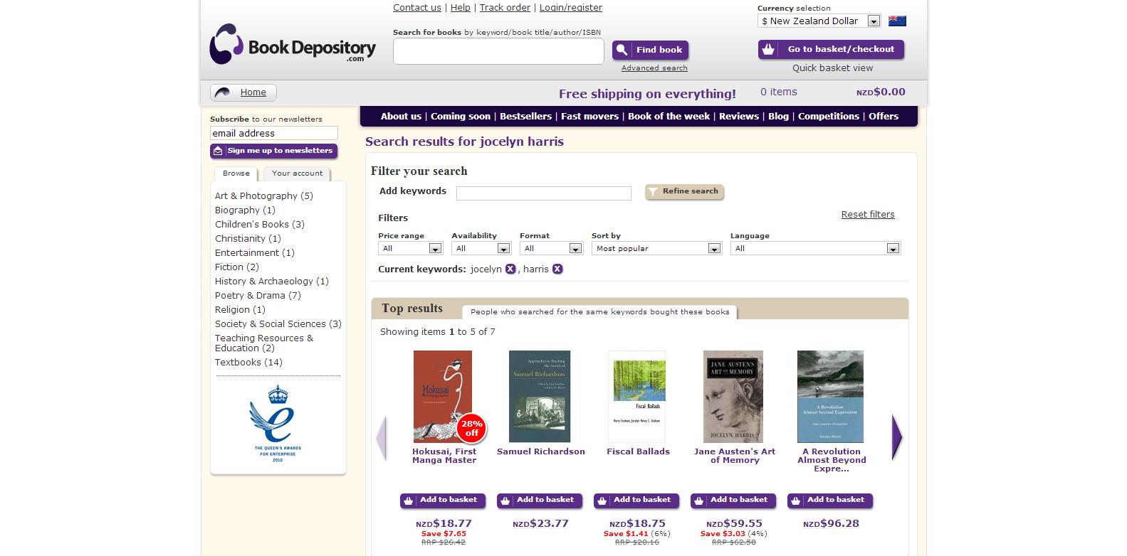 Book Depository: Jocelyn Harris